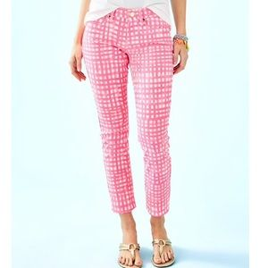 "29"" SOUTH OCEAN SKINNY CROP PANT"